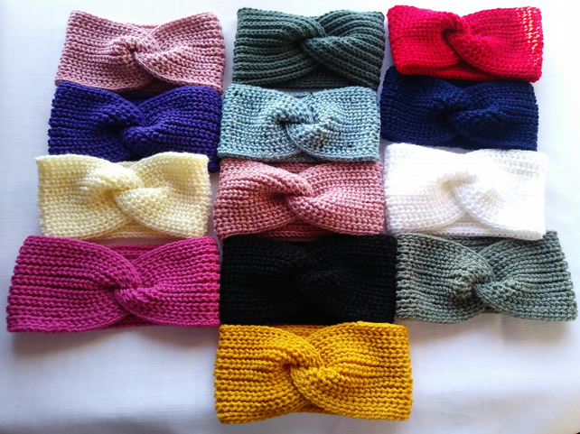 Cosy hand crafted ear warmer's