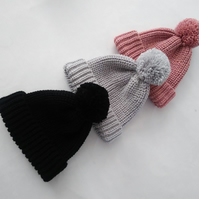Cosy warm hand crafted hats