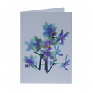 Notelets – Thank You Cards - Mini Orchid - Pack of 5 with Envelopes