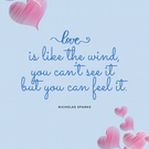Love, is like the Wind
