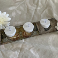 """On The Beach"" Tea Light Holder"