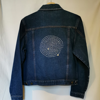The 'Stitching in ever increasing circles' Jacket
