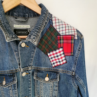 The 'Checks and Plaids patches' jacket