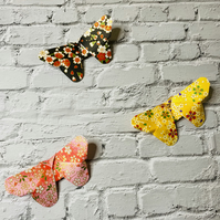 Large Origami Butterflies - Paper Butterfly Set of 3