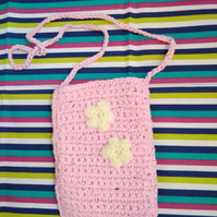 Phone purse with strap