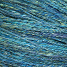 250g Hank of  Handspun Merino and Silk Yarn. Hand spun Wool.