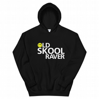 Old Skool Raver Party Unisex Hoodie