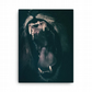 The Jaws Of A Lion Canvas Print 18 x 24