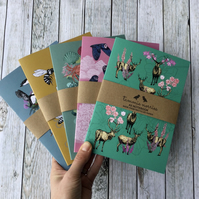 Set of Notebooks - Recycled A5 Notebooks - Notebook Set