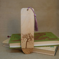 Pyrography Bookmark