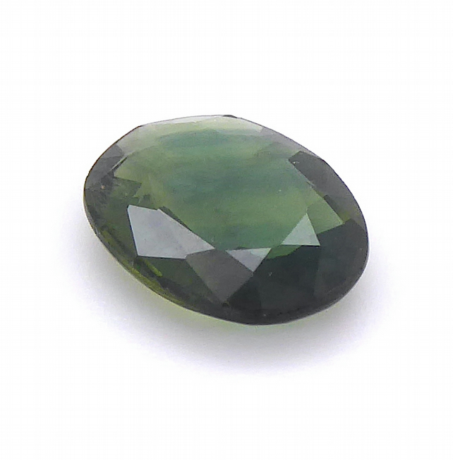 1.51 ct Sapphire - Green-Blue Oval