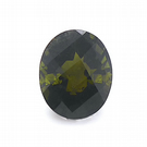 3.22 ct Tourmaline - Dark Green Oval