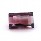 1.62 ct Tourmaline - Bicolour Pink and Green Baguette