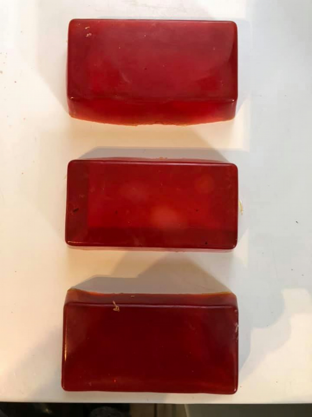 handmade 3 pack of soap