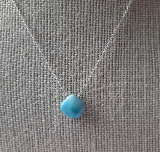 Larimar Necklace,