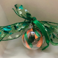 Small St Patricks Day bauble
