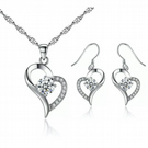 Swarovski Crystal necklace & Earrings set ideal mothers day gift!