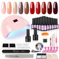 Professional Gel nail starter kit 10 colours included!