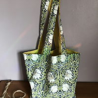 William Morris pattern Shopping Tote