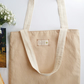 Earth friendly & reusable Lined Coffee Tote (with pocket)