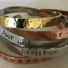 PERSONALISED CUFF BANGLE