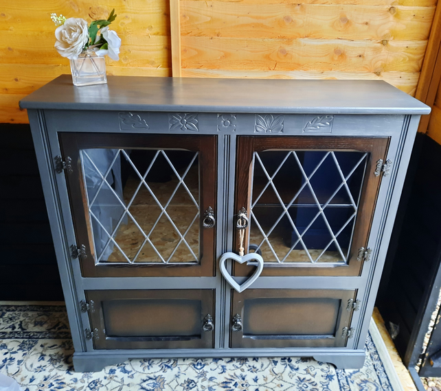 Upcycled china cabinet ,display unit.