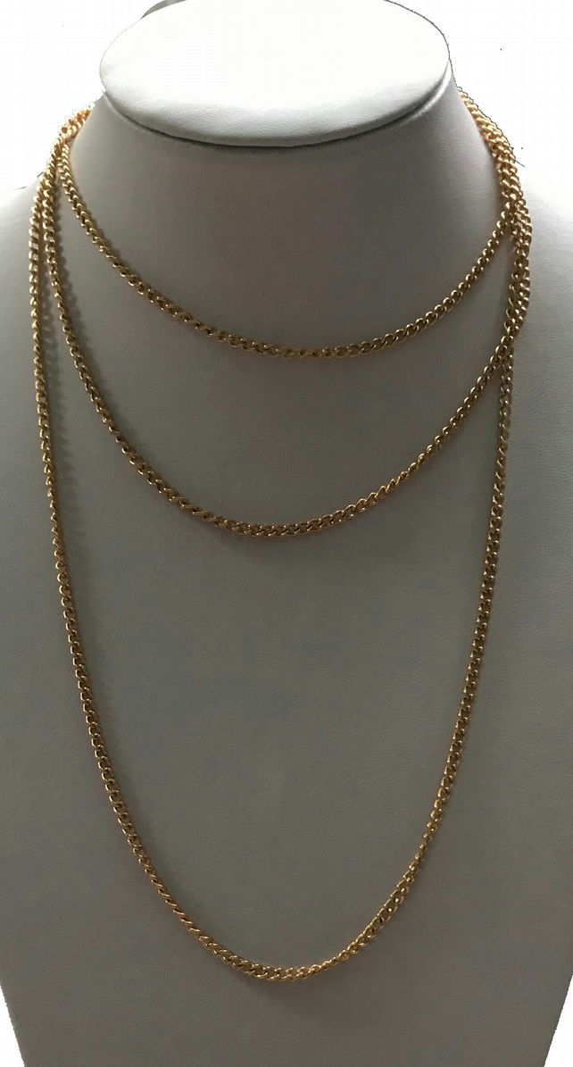 Gold plated elegance - necklace