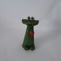 Stonware frogs small