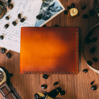 The Chillingham, Real Leather Bi Fold Wallet