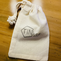 Tinker Jewellery natural cotton gift bag