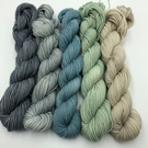 Misty Morning Mini Skein Set