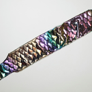 Handmade Stretchy Horse Equine Tail Bag Guard - Mermaid Scales Holographic