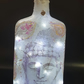 Light decoupage bottle