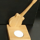 Cedar wood guitar tealight holder (1 tealight provided)
