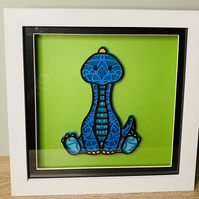 3D Layered Paper Diplodocus Dinosaur - perfect for any child's room