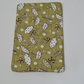Green umbrella patterned pocket tissue pack covers