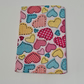 Colourful heart patterned pocket tissue pack covers