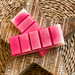 Raspberry and Peppercorn Wax Melt Snap Bar