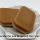 Vegan 100% Natural Handmade Shea Butter Eucalyptus and Bergamot Clay Soap