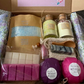 Luxury large beautiful you bath hamper