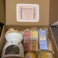 Gift hamper bath luxuries wax burner luxury hamper
