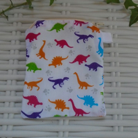 Dinosaur Themed Coin Purse or Card Holder.