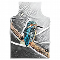 Kingfisher Grey Looking Adult Size Apron
