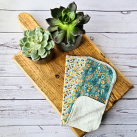 Bamboo Facecloths - Floral