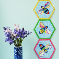 Busy Bees Wall Hanging