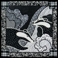 Badgers Wall Quilt