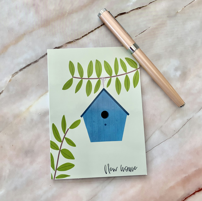 New home card, new house, housewarming, first home