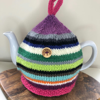 Scrappy Style Multi-Coloured Tea Cosy