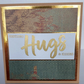 Sending hugs and kisses card
