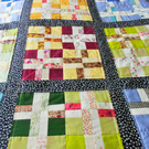 Patchwork Quilt, Multicoloured Vintage Style